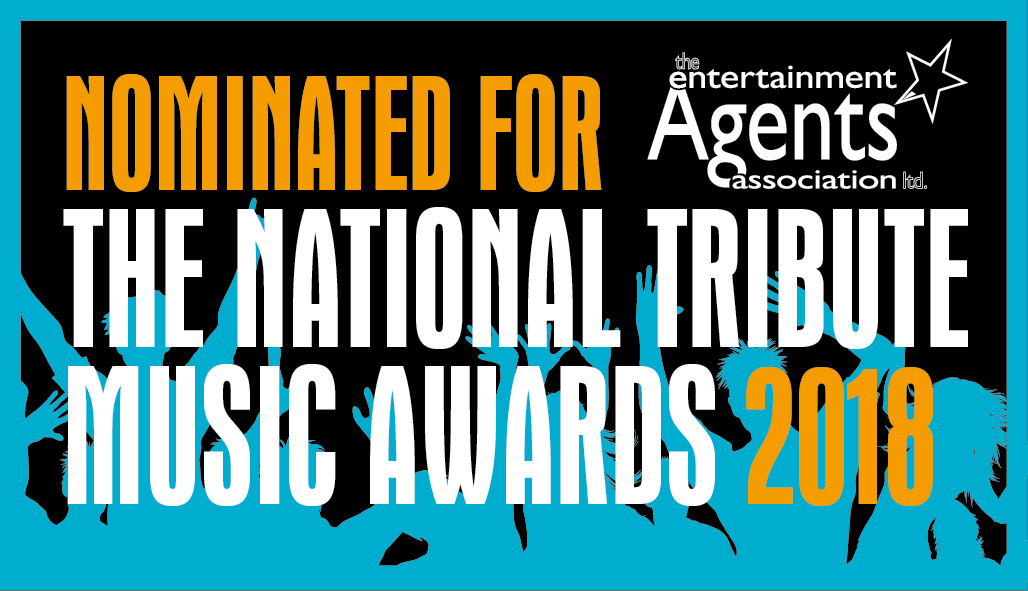 Nominated for th National Tribute Music Awards 2018