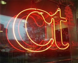 CT's bar sign