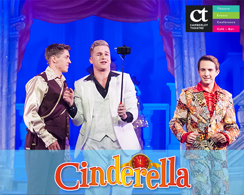 Prince Charming, Dandini and Buttons