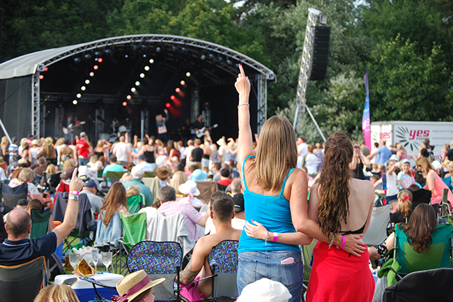 Frimley Lodge Live 2015 daytime