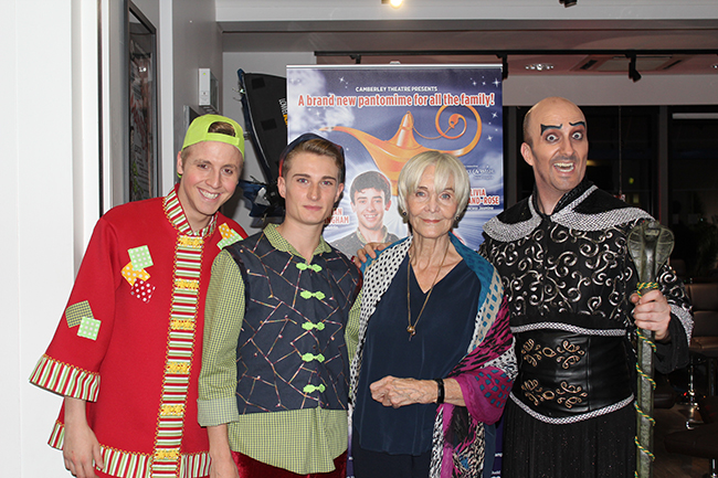 Sheila Hancock visits Camberley Theatre