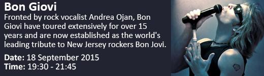 Bon Giovi - tribute to New Jersey rockers Bon Jovi