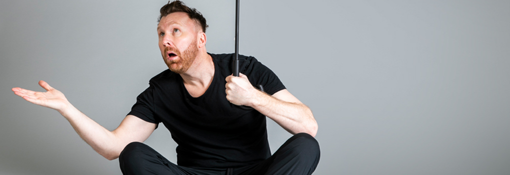 Image of Jason Byrne at Camberley Theatre