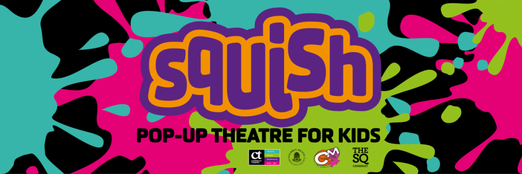Squish pop-up theatre for kids
